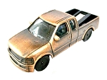 Modern Pick-Up Truck Die Cast Metal Collectible Pencil Sharpener