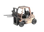 Forklift Die Cast Metal Collectible Pencil Sharpener