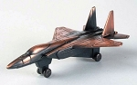 F-15 Fighter Jet Die Cast Metal Collectible Pencil Sharpener Design 1