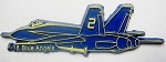Navy F-18 Blue Angels Fridge Magnet Design 1