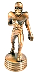 Football Player Die Cast Metal Collectible Pencil Sharpener