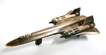 SR-71 Blackbird Die Cast Metal Collectible Pencil Sharpener Design 1