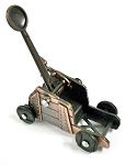 Catapult Die Cast Metal Collectible Pencil Sharpener Design 1