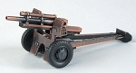 Army Howitzer Cannon Die Cast Metal Collectible Pencil Sharpener Design 1