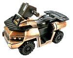 ATV Die Cast Metal Collectible Pencil Sharpener
