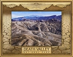 Death Valley National Park Laser Engraved Wood Picture Frame (5 x 7)