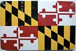 Maryland Flag Design Souvenir Playing Cards Design 10