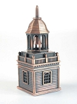 Church with Steeple Die Cast Metal Collectible Pencil Sharpener Design 1
