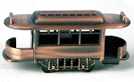 Railroad/Trolley Open End Car Die Cast Metal Collectible Pencil Sharpener Design 1