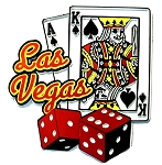 Las Vegas 7 and 21 Fridge Magnet