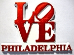 Philadelphia Love Fridge Magnet Design 30