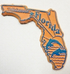 Florida Tallahassee United States Fridge Magnet Design 3