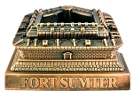 Fort Sumter South Carolina Die Cast Metal Collectible Pencil Sharpener