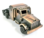Over the Road Semi Truck Die Cast Metal Collectible Pencil Sharpener Design 1