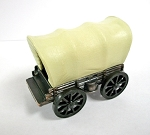 Covered Wagon Die Cast Metal Collectible Pencil Sharpener Design 1