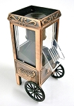 Popcorn Cart Die Cast Metal Collectible Pencil Sharpener Design 1
