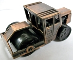 Steam Roller Die Cast Metal Collectible Pencil Sharpener Design 1