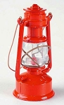 Old Time Red Painted Lantern Die Cast Metal Collectible Pencil Sharpener Design 1