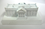 The White House Die Cast Metal Collectible Pencil Sharpener Design 1