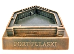 Fort Pulaski Georgia Die Cast Metal Collectible Pencil Sharpener Design 1