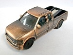 Modern Pick-Up Truck Die Cast Metal Collectible Pencil Sharpener Design 1