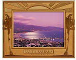 Santa Barbara California Laser Engraved Wood Picture Frame (5 x 7)