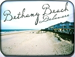 Bethany Beach Delaware Fridge Magnet Design 26