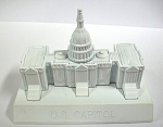 United States Capitol Die Cast Metal Collectible Pencil Sharpener Design 1