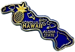 Hawaii The Aloha State Fridge Magnet