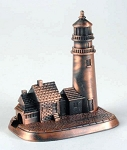 Lighthouse Die Cast Metal Collectible Pencil Sharpener Design 1