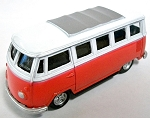 Volkswagon Painted Bus Die Cast Metal Collectible Pencil Sharpener Design 1