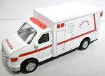 Ambulance Die Cast Metal Collectible Pencil Sharpener Design 1