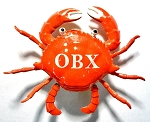 OBX Wiggly Crab Fridge Magnet Design 10
