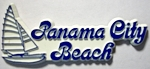Panama City Beach Florida Fridge Magnet Design 1