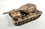 Sherman Tank Die Cast Metal Collectible Pencil Sharpener Design 1