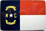 North Carolina State Flag Souvenir Playing Cards Design 10