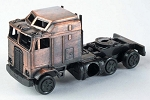 Semi Truck Die Cast Metal Collectible Pencil Sharpener Design 1