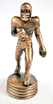 Football Player Die Cast Metal Collectible Pencil Sharpener Design 1