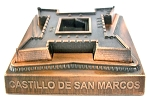 Fort Castillo De San Marcos Florida Die Cast Metal Collectible Pencil Sharpener