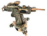 Machine Gun Cast Metal Collectible Pencil Sharpener Design 1