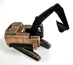 Excavator Die Cast Metal Collectible Pencil Sharpener Design 1
