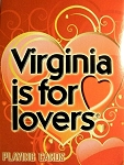 Virginia is for Lovers Souvenir Playing Cards