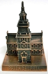 Independence Hall Philadelphia Die Cast Metal Collectible Pencil Sharpener Design 1