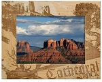 Cathedral Rock Arizona Laser Engraved Wood Picture Frame (5 x 7)