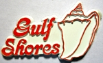 Gulf Shores Florida Fridge Magnet Design 1