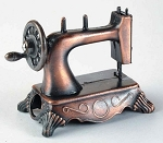 Sewing Machine Die Cast Metal Collectible Pencil Sharpener Design 1