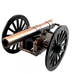 Civil War Cannon Die Cast Miniature Replica Pencil Sharpener