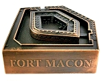 Fort Macon North Carolina Die Cast Metal Collectible Pencil Sharpener