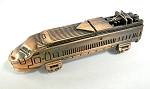 Amtrak Locomotive Die Cast Metal Collectible Pencil Sharpener Design 1