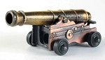 Old Time Naval Deck Cannon Die Cast Metal Collectible Pencil Sharpener Design 1